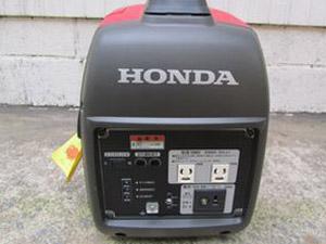 ホンダ(HONDA)発電機 スタートボタン