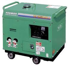 ヤンマー発電機